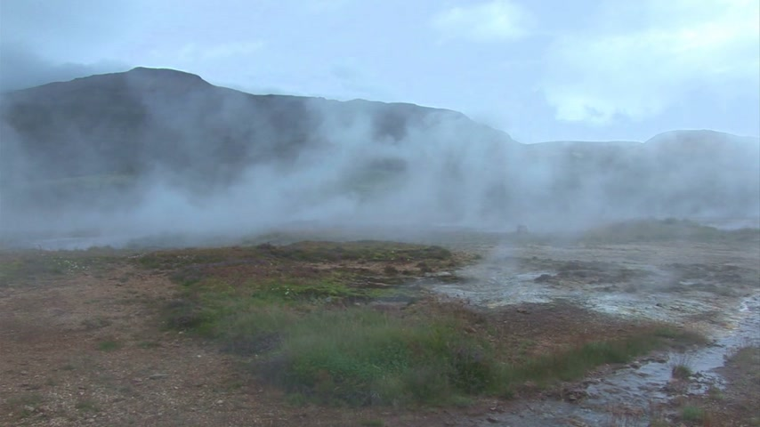 volcanology : Iceland - Geysir - Golden Circle - Europe Travel Destination - The Most Famous Sights Of The Island