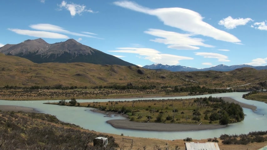 Чили : South America - Patagonia - Torres del Paine National Park - Beautiful natural landscape - Travel Destination - Landmark