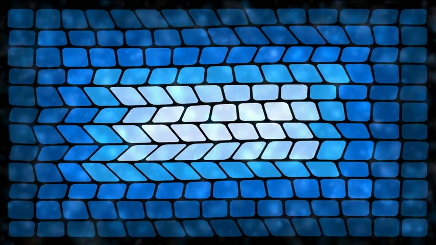 freshness background : Abstract spa concept. Water ripples and lights glittering over blue tiles Stock Footage
