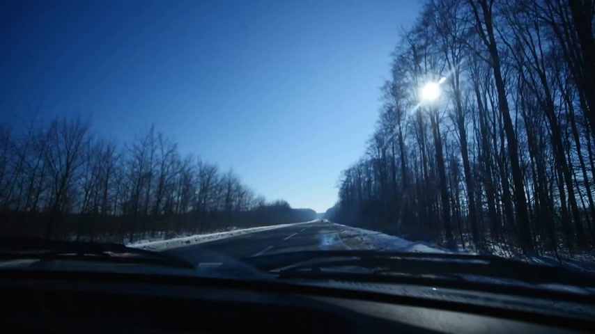 escorregadio : 21.01.2018, Chernivtsi, Ukraine - Driving car in icy road. Dangerous road. Winter scenery