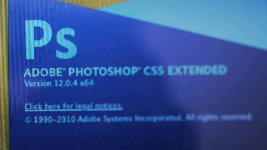 photoshop : PARIS, FRANCE - 2 FEB, 2015: Zoom in to Adobe Photoshop CS 5.5 Extended on a Apple Macintosh OS. Adobe CS5.5 was released on April 12, 2010