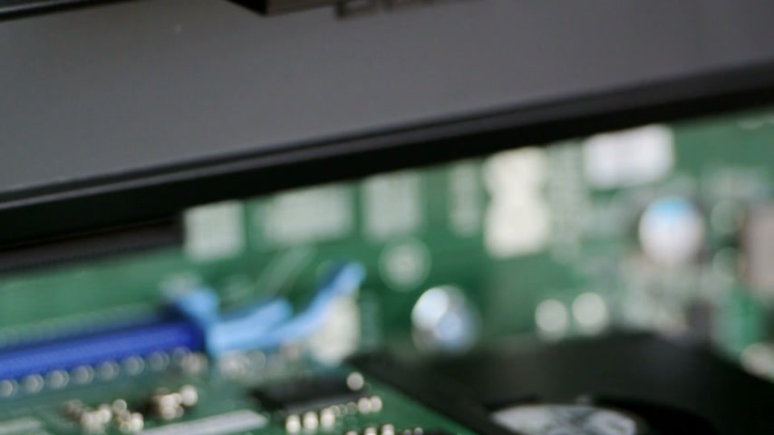 quadro : LONDON, UNITED KINGDOM - CIRCA 2016: Professional video card from NVIDIA - Nvidia Quadro seen in a modern powerful workstation