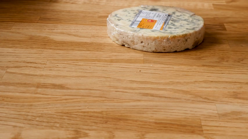 moldy : French cheese rotation on kitchen countertops
