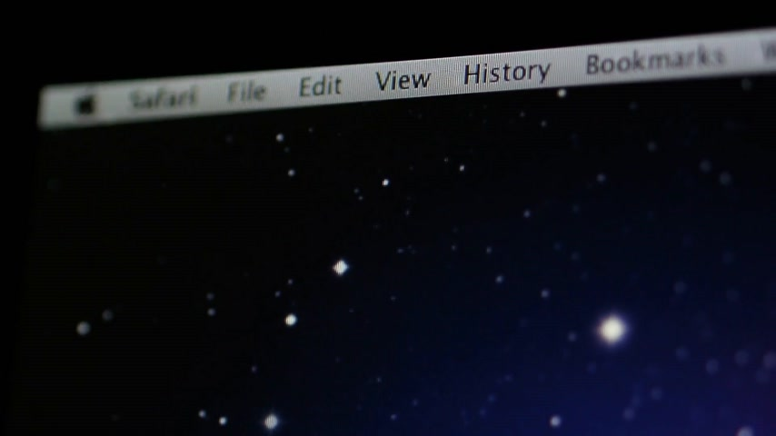 apple sign : CALIFORNIA, UNITED STATES - CIRCA 2014: Apple Computers new desktop computer iMac with Safari browser and www.apple.com website with iPad, iTunes, Support, Mac, laptop tabs
