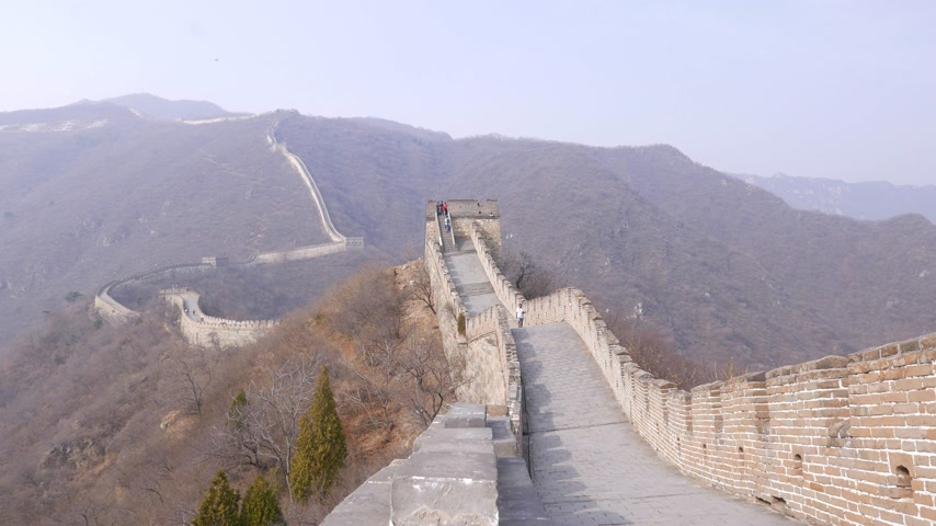 Great Wall of China Wideo