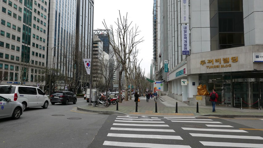 teheran : Seoul downtown and Gangnam panorama