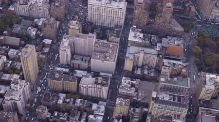 midtown : Cityscape of Midtown District in Manhattan. Residential Neighborhood. Aerial View. New York City, United States of America