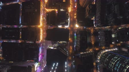 top down : Aerial Top-Down View of the City. Stock Footage