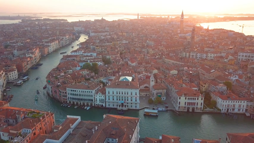 sikátor : Aerial view Italy Venice