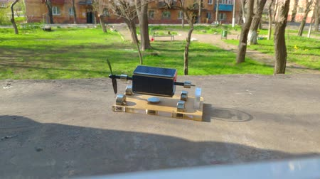 row : Magnetic levitation. Perpetuum mobile Solar battery