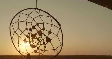 lucky charm : Dream Catcher at Sunset by the Sea.
