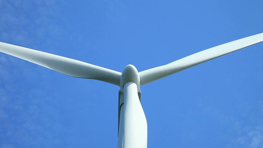 generatore : Wind Turbine Close-up Filmati Stock