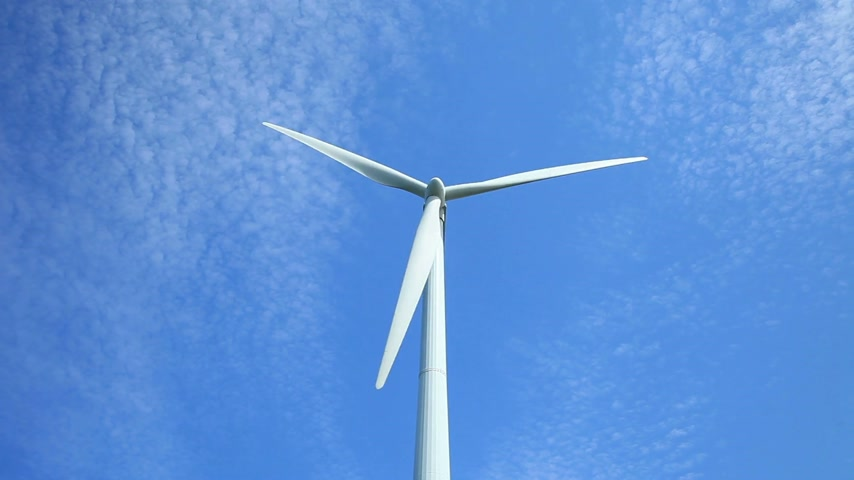 turbine : Wind Turbine Stock Footage