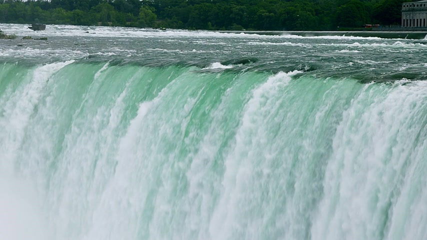 Онтарио : Niagara Falls Close-up Landscape View from the Canadian side