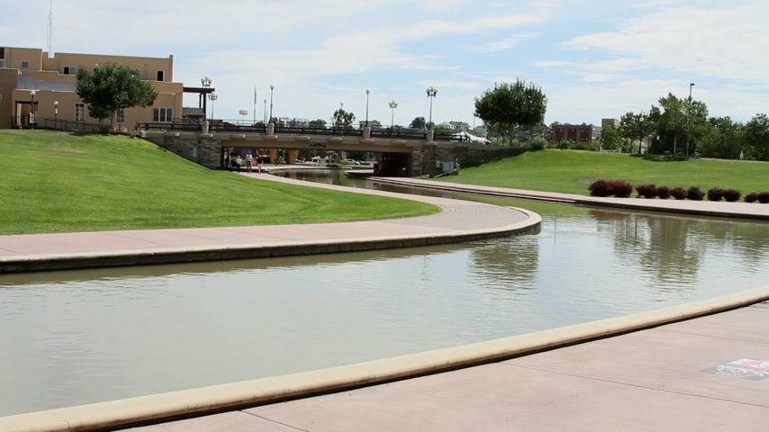 brons : Pueblo Colorado Riverwalk Historic Arkansas Riverwalk 03