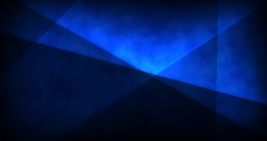 nowoczesne technologie : Abstract deep blue looped video background - moving glowing lines