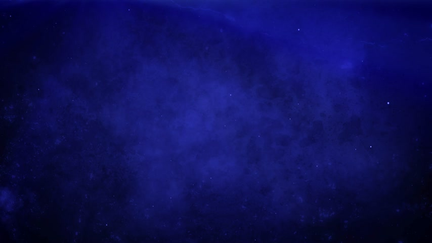 Atmospheric deep blue grunge background with fog