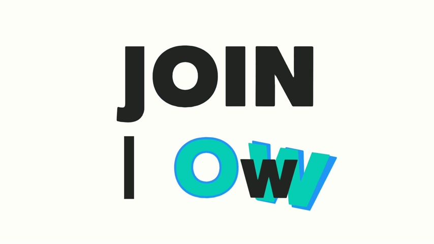 наивысший : Basic text animation about Join now. animated video. Highest resolution . stop motion animated letter text