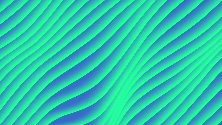 em branco : Colorful wave gradient loop animation. Future geometric diagonal lines patterns motion background. 3d rendering. 4k UHD Vídeos