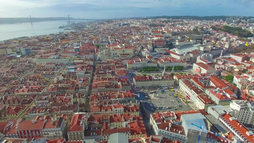 lisboa : Lisbon from the sky