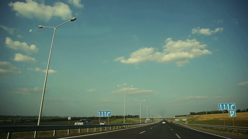 uliczki : Driving on Highway