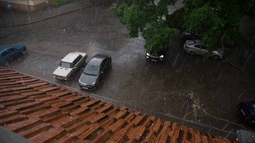 çatı : Hail Hit the Roof