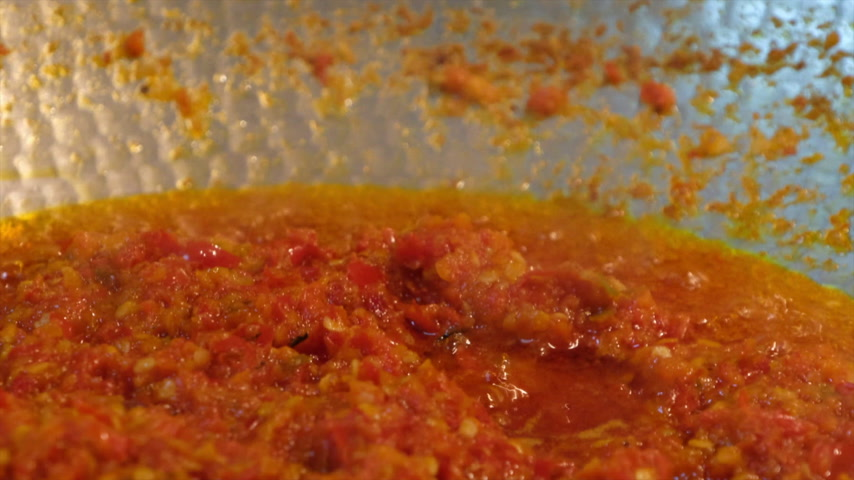 Stir gebratene gemischte Chilipaste Videos