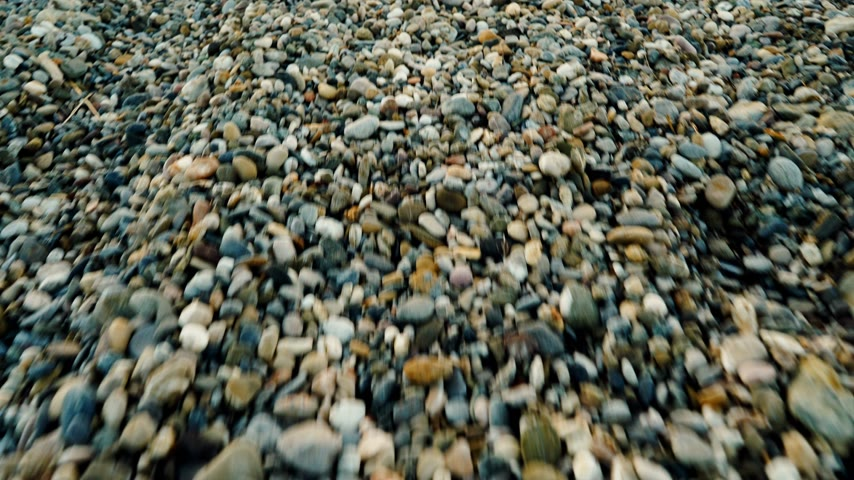 小石 : Stone pebble beach. Background of seacoast