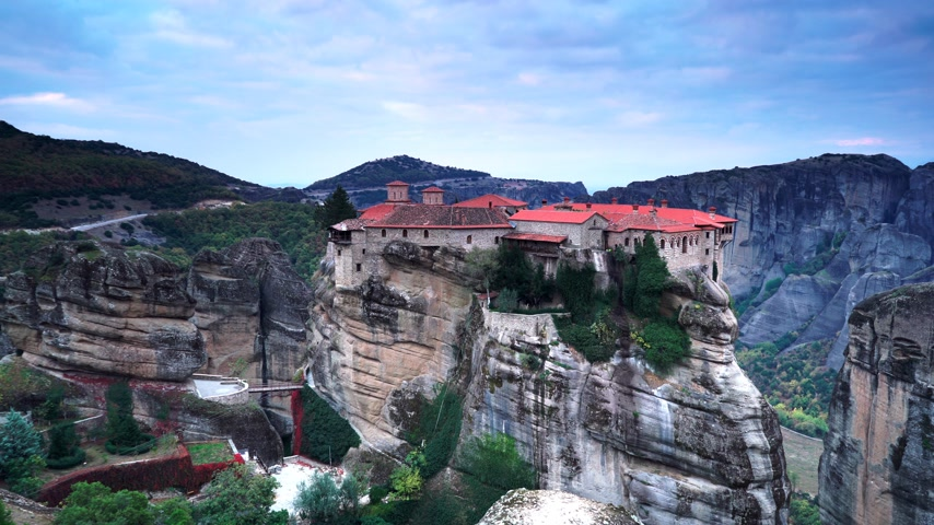 kalambaka : Varlaam monastery in Meteora, Greece.