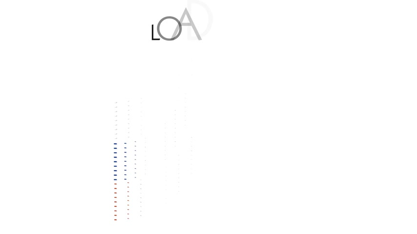 queda : Russia flag with moving loading Vídeos