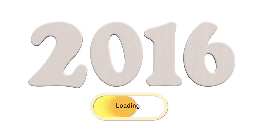 queda : Animation Year 2016 symbol loading