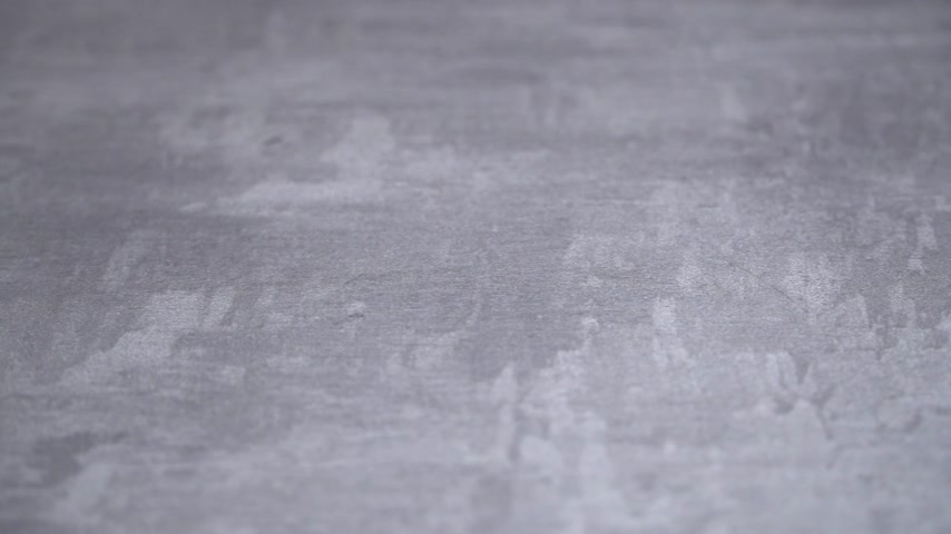 gesso : background of the plastered texture with marble effect gray. artistic background handmade. Venetian plaster. offset effect Stock Footage