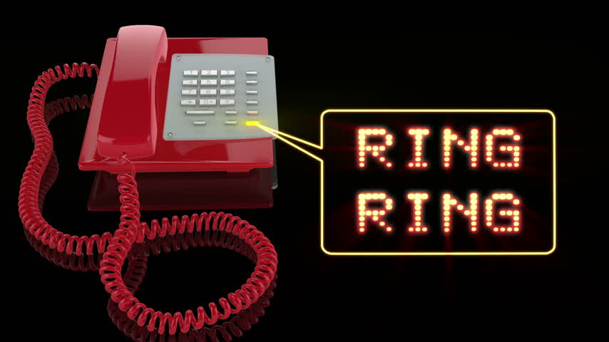 alıcı : Emergency Red Phone with Ring Ring text