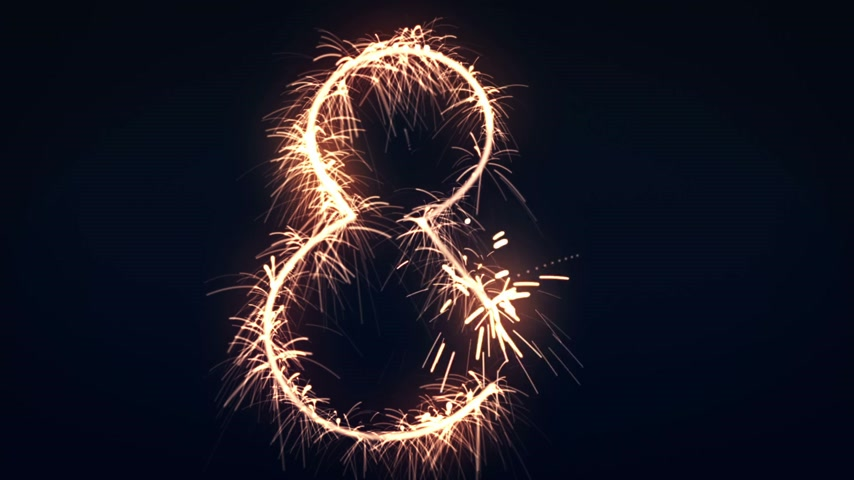 matematica : Infinity Sign Sparkler