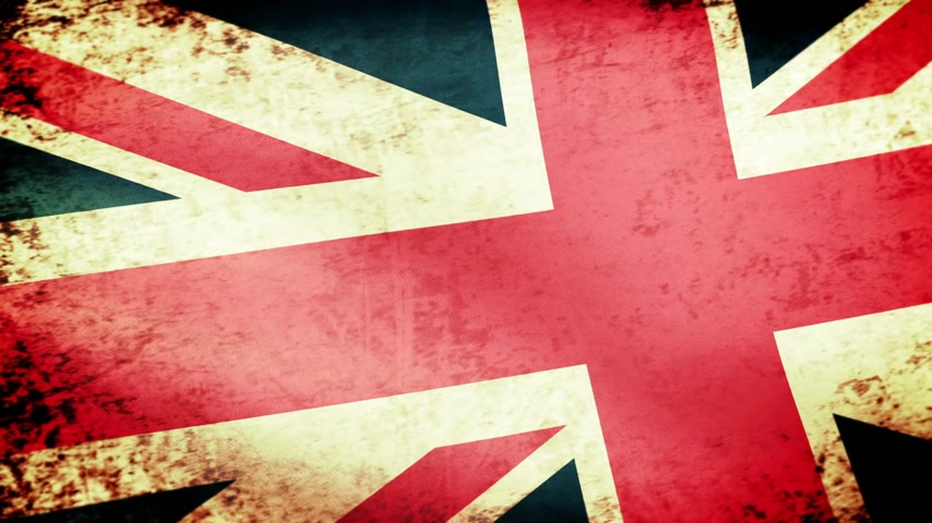 reino unido : United Kingdom Flag Waving, grunge look