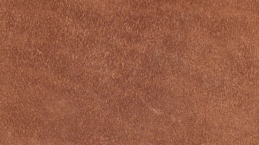 chamois : Rotation of natural suede leather. Brown chamois texture. Fluffy and soft shammy-leather.