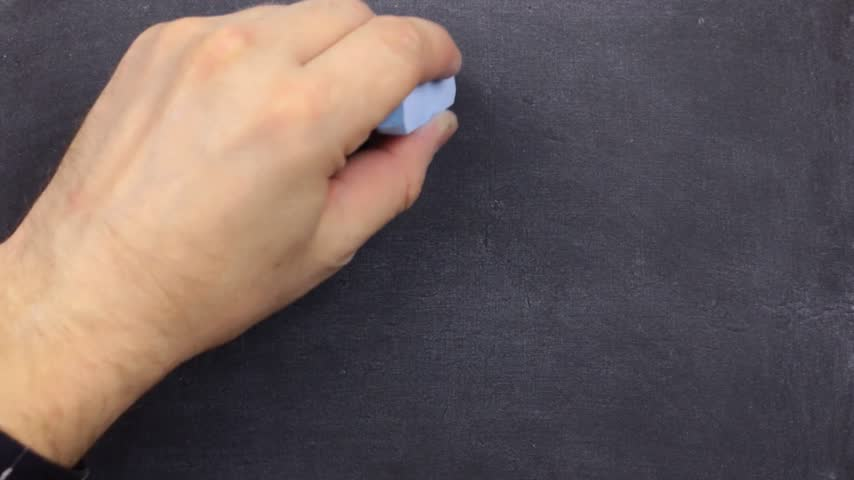 letter board : Text come in were open, written with chalk on old blackboard.