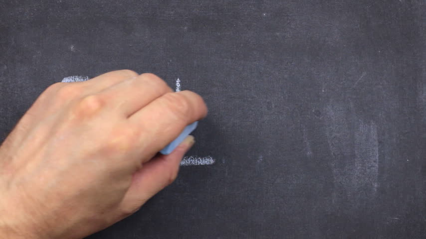 frase : Word dream, written with chalk on blackboard. Vídeos