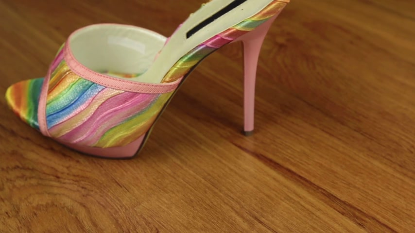 highheels : Slider shot. Stylish classic womens sandals shoes with high heels.