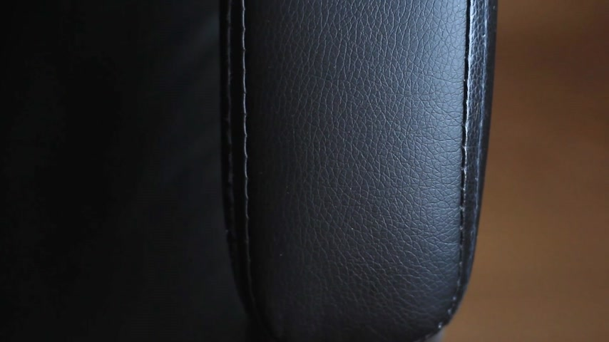 ayarlanabilir : Leather office chair handle close up