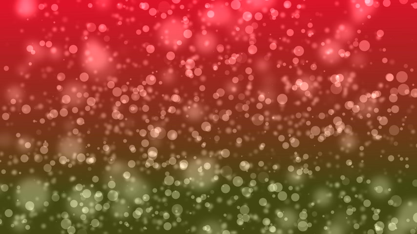 ntsc : Particle spots red green Stock Footage