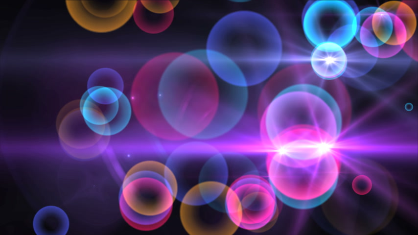 beauty spot : circles color 4k Stock Footage