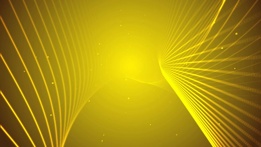 линии : 3d line background yellow 4k