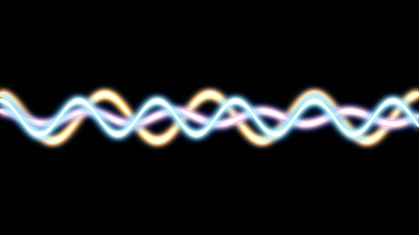 радио : line spiral oscillator abstract