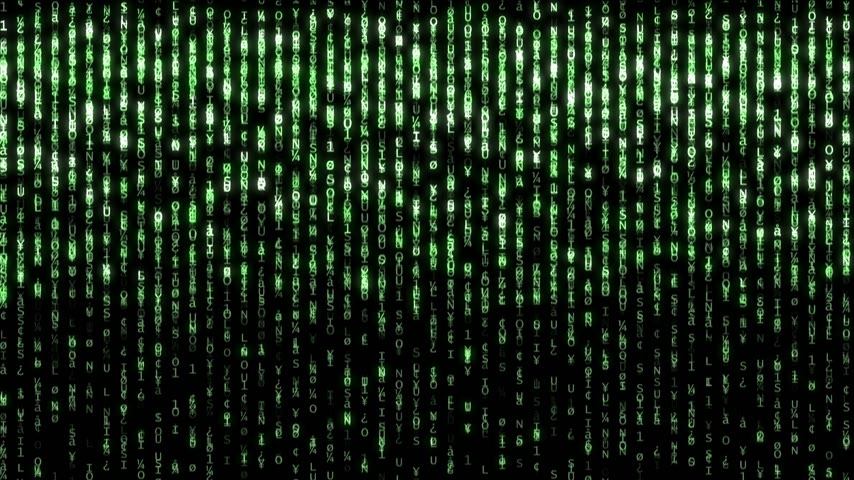 matris : matrix binary code 4k