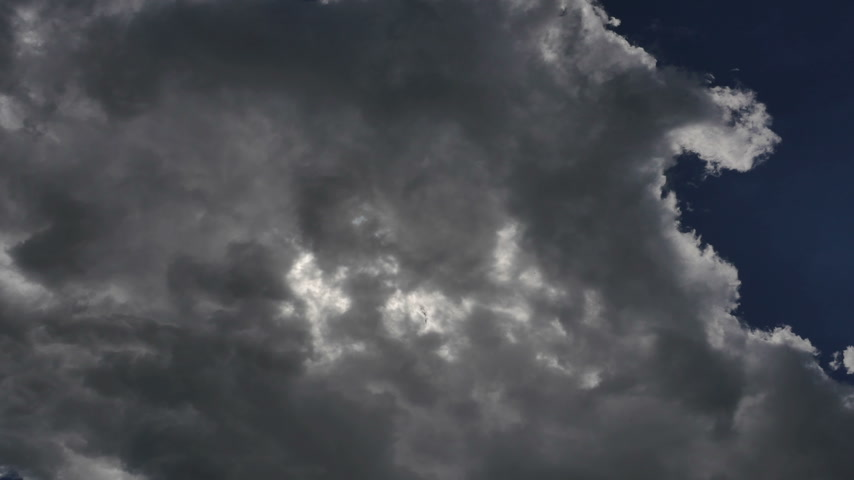 meteorologia : sky clouds time lapse 4k Stock Footage