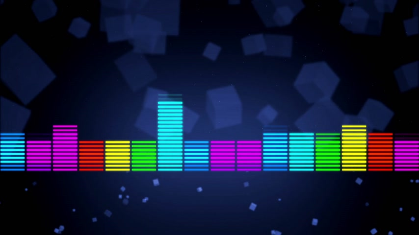 gravador : color music equalizer abstract Stock Footage