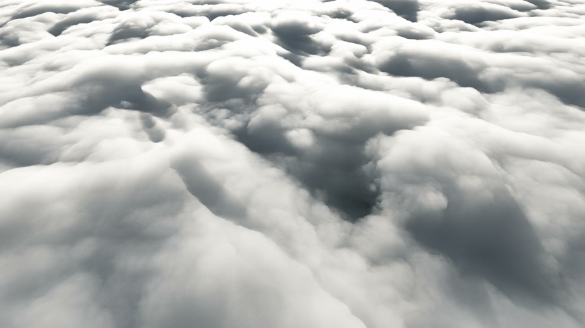 成層圏 : fly above clouds 4k