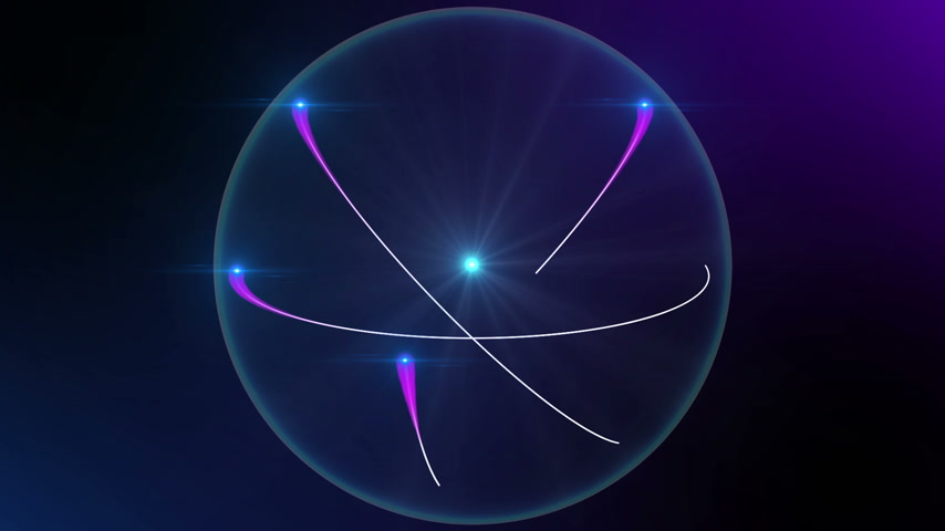 atomový : animation of atom 3d model