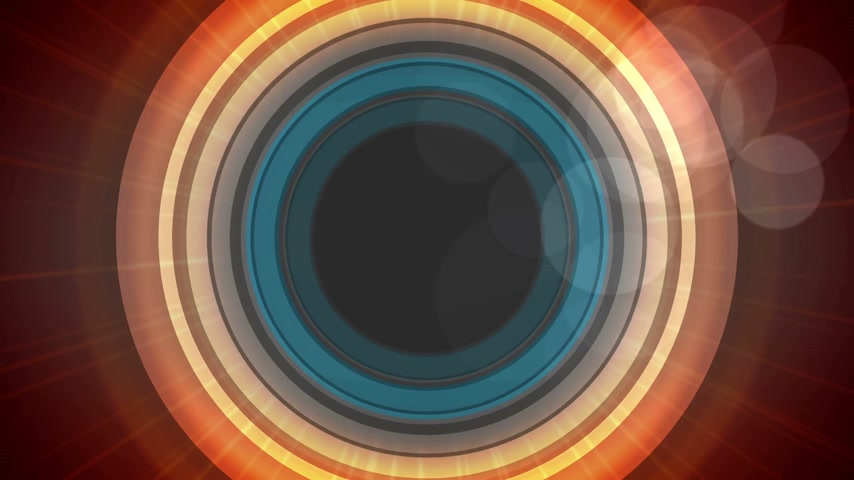 marquee : Abstract Technology Ride circles background Stock Footage
